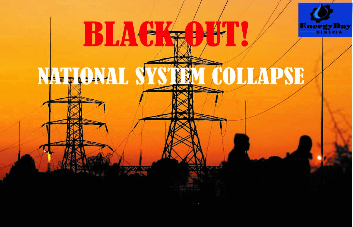 Blackout as Nigeria records 4th system collapse in seven months