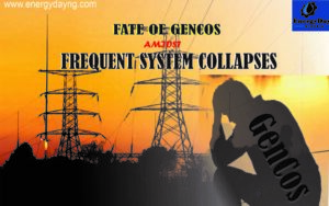 The menace of grid collapses; fate of the GenCos